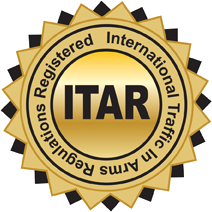 International Traffic In Arms Regulations Registered (ITAR)